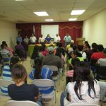 CAPACITAN A FAMILIAS BENEFICIADAS EN URBANIZACIÓN SAN ANTONIO