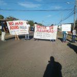 PROTESTAN PARA QUE PROMOTORAS RESUELVAN IRREGULARIDADES