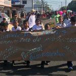 PROTESTAN POR MEJORAS ESTRUCTURALES