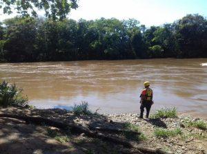 Encuentran a una persona ahogada en el Río Santa María en Santa Fé.