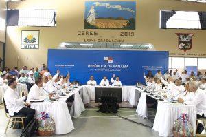 Veraguas, primer punto de encuentro del gabinete del Presidente Laurentino Cortizo.