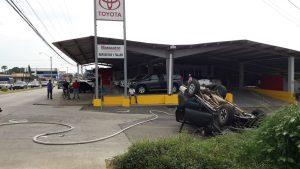 Accidentes de tránsito siguen a la orden del día en Santiago