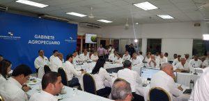 Gobierno realiza Gabinete Agropecuario en Veraguas.