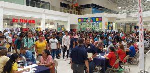 Masiva feria de empleo en Veraguas.