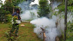 MINSA, realiza jornada de limpieza para prevenir el dengue en Santiago.