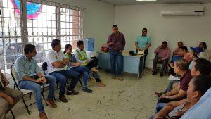 Realizan consultas ciudadanas para proyectos en el corregimiento de Santiago.