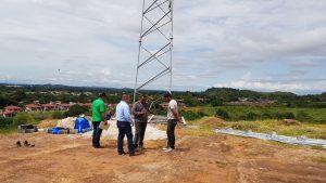 Rechazan construcción de antena en Villa Nidia N° 2 de San Martín.
