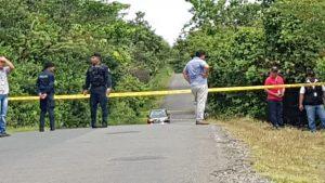 Ministerio Público adelanta las investigaciones por el triple homicidio registrado en Las Palmas.