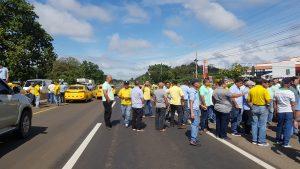 Taxistas en Santiago, piden solucionar problemas de otorgamientos de cupos de manera ilegal
