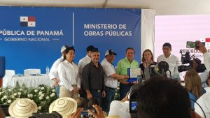 Gobierno entrega orden de proceder para la nueva carretera Atalaya-Mariato -Quebro.