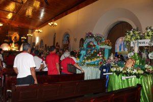 Santiagueños, celebran 70 años de la llegada de la Medalla Milagrosa.